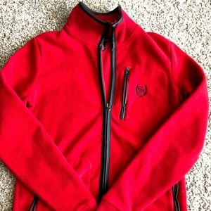 Tommy Hilfiger Sweaters - Womens Tommy Hilfiger Fleece Zip Up